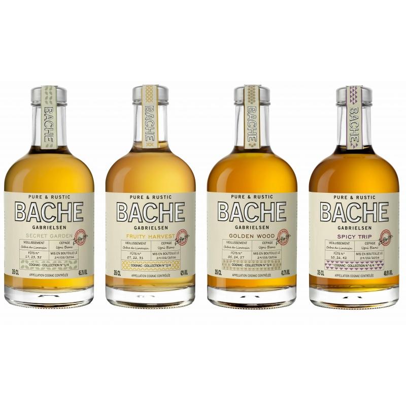 4 x Pure & Rustic Cognac Bache Gabrielsen